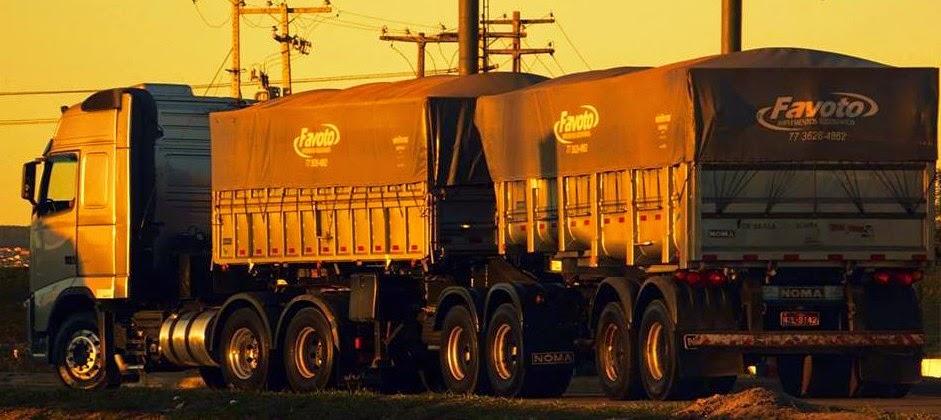 Transporte rodoviário de minério